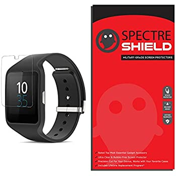 ArmorSuit MilitaryShield - Sony SmartWatch 3 Screen Protector [Full Coverage][2 Pack] Anti-Bubble Ultra HD Shield w/ Lifetime Replacements