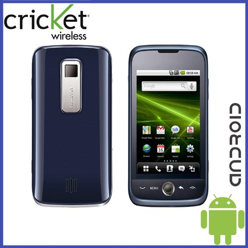 Huawei Ascend M860 Cricket Touchscreen Android Smartphone