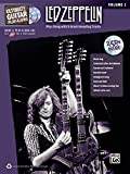 Ultimate Guitar Play-Along Led Zeppelin, Vol 1: Play Along with 8 Great-Sounding Tracks (Authentic Guitar TAB), Book & 2 CDs (Ultimate Play-Along)
