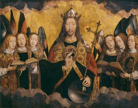 Betty's Full Service Costumes ('Hans Memling - Christ With Singing And Music-Making Angels, Middle Panel,1480s' Oil Painting, 12x15 Inch / 30x39 Cm ,printed On High Quality Polyster Canvas ,this Imitations Art DecorativePrints On Canvas Is Perfectly Suitalbe For Study Decor And Home Artwork And Gifts)
