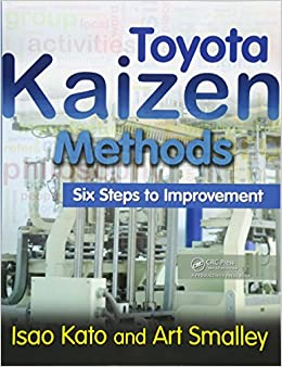 Book Toyota Kaizen Methods: Six Steps to Improvement