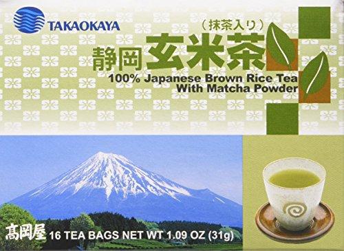 brown rice tea with matcha - 6