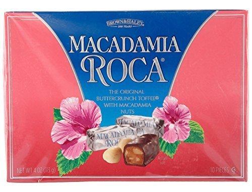 (4 oz MACADAMIA ROCA Box by Brown & Haley)