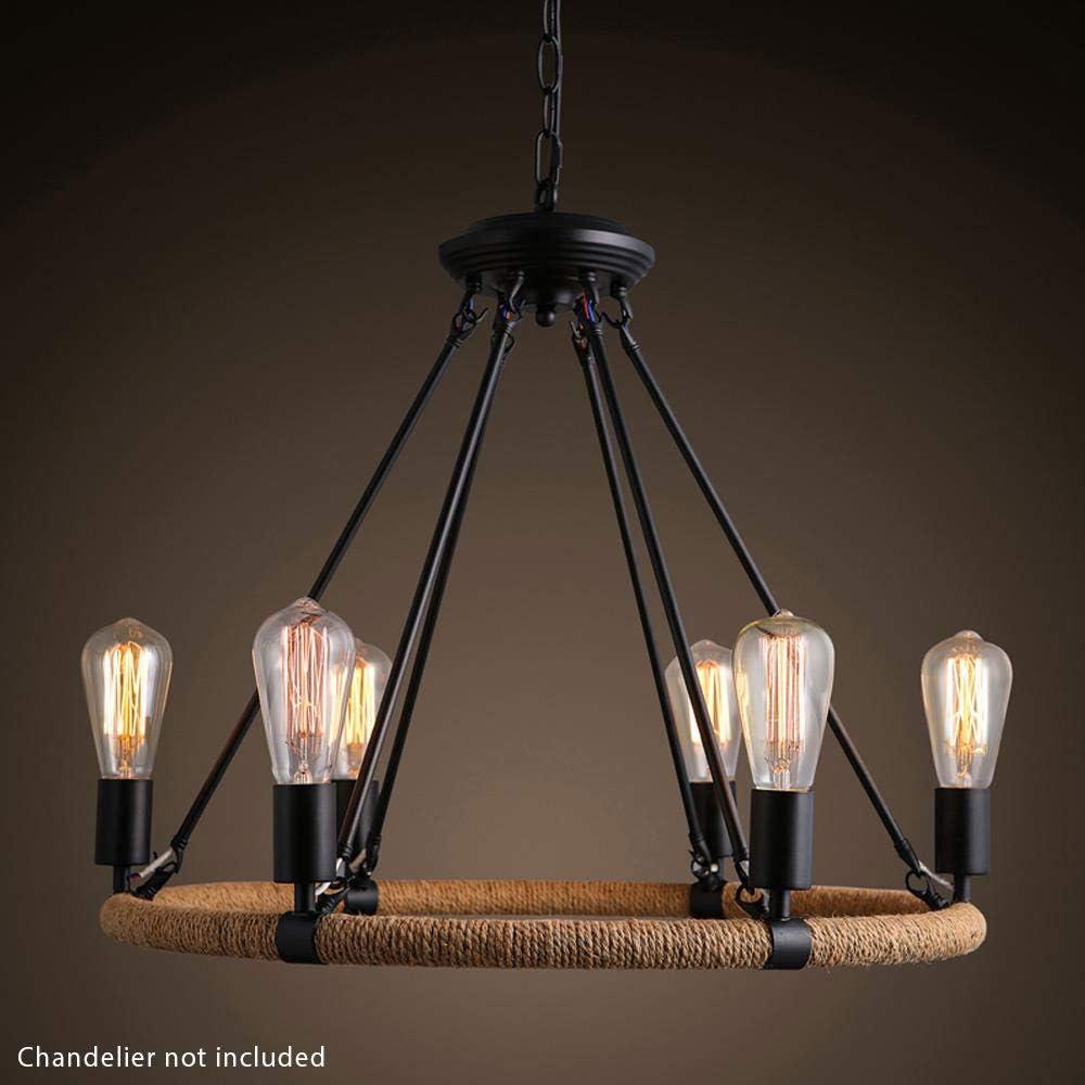 2 Pack Royal Designs LB-4001-2 Vintage Edison Syle Straight Tubular 60-Watt St64 E26 130V Incandescent Clear Light Bulb