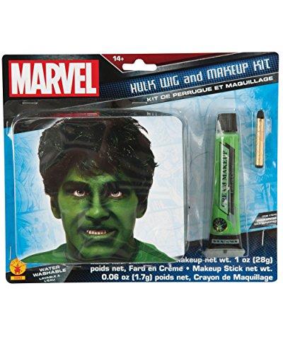 (Rubie's Men's Marvel Universe Adult Hulk Makeup Kit, Multi, One)