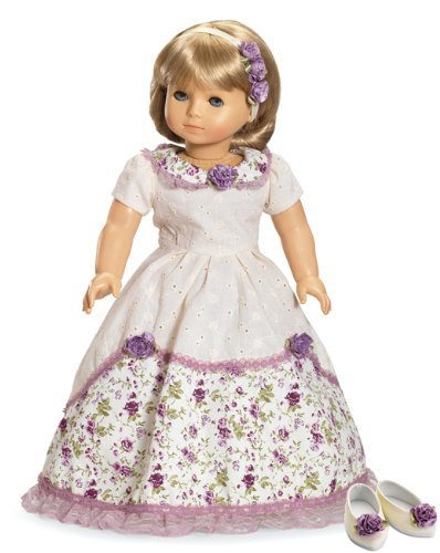 lle of the Ball Dress, Hair Accessories and Shoes ~ Historical Doll Clothes Fits 18