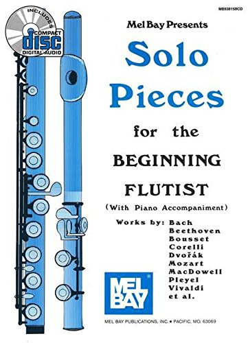 Mel Bay Solo Pieces for the Beginning Flutist Book/CD Set