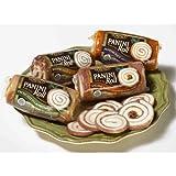 Panini Roll stuffed with Sopressata & Mozzarella - 6 Oz (Pack of 12)