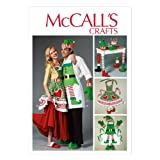 McCall Pattern Company M6860 Aprons, Oven Mitts, Hat, Slippers and Table Leg Decorations Sewing Template, All Sizes