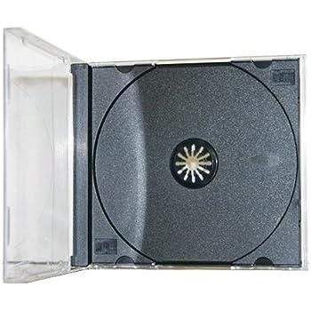 Americopy 100 Standard CD Jewel Case Assembled Black