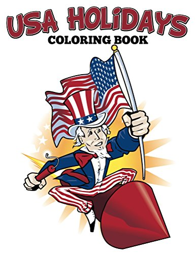 Download USA Holidays Coloring Book Books For Kids Art Series Pdf