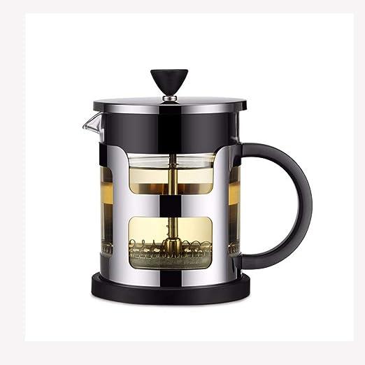 Link Co Cafetera Estilo francés Taza de café de Vidrio Resistente ...