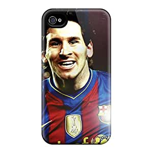 New Arrival PptHvyA5967xLjjX Premium Iphone 4/4s Case(forward Player Of Barcelona Lionel Messi)