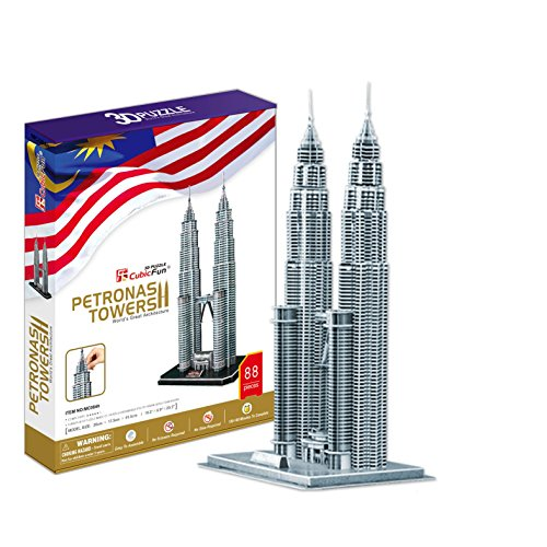 Cubic Fun MC084h Petrona Towers 3D Puzzle