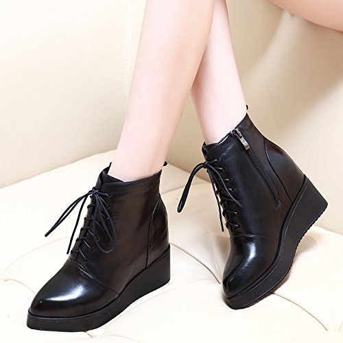 GTVERNH-Las nuevas botas de invierno y Martin botas black