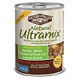 Natural Ultramix Venison, White Potatoes & Fresh Cut Carrots Entree Grain-Free for Adult Dogs, 13.2-Ounce Cans (Pack of 12)