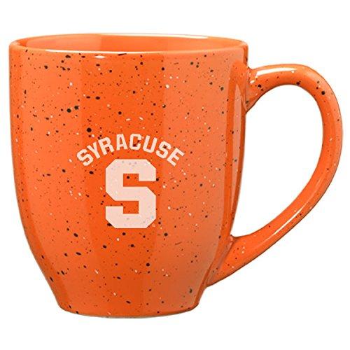 - 16-ounce Ceramic Coffee Mug - Orange (Syracuse Dishwasher Safe Mug)