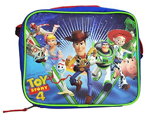 [해외]디즈니 픽사 토이 스토리 4 런치 박스 가방 스트랩 절연 소프트 케이스 / Disney Pixar Toy Story 4 Lunch Box Bag Insulated Soft Case with Strap