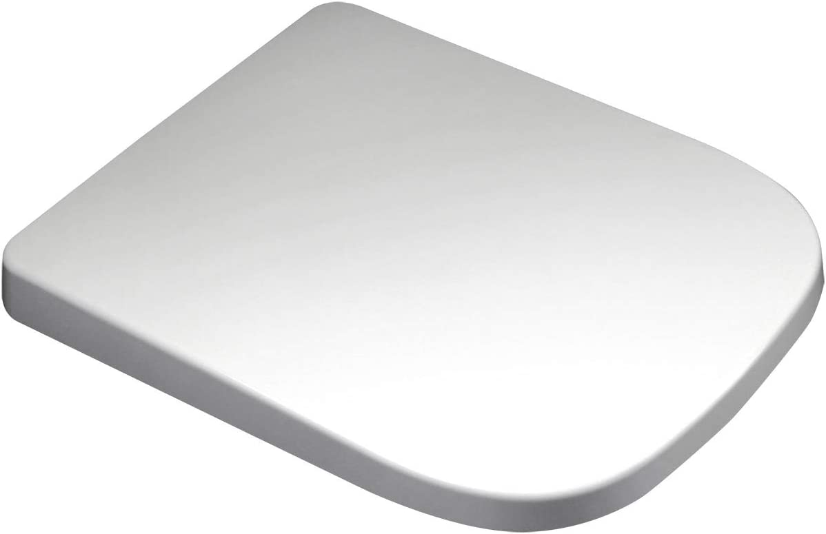 Luxury Square Design Toilet Seat • Soft Close • One Button Release • Top Fixing Hinges • Easy to Clean WC from ECOSPA