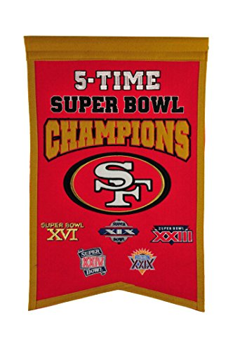 49ers Super Bowl - NFL San Francisco 49ers Super Bowl Champions Banner