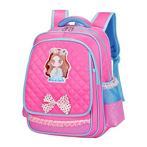 Cute Princess School Book Bag Backpack For Kids Toddler Teen Pupil Elementary Student Girls 16 [並行輸入品]   B078WW3P4H