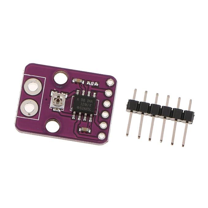 Perfeclan Módulo INA129-HT Una Fila de Pins T Son amplificadores de instrumentación de propósito General de Baja Potencia: Amazon.es: Electrónica