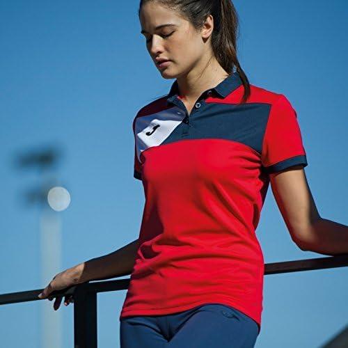Joma Polo Crew II M/C Rojo-Marino Mujer - Polo Deportivo, Mujer ...