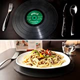 Witty Novelty Vinyl Record Placemats