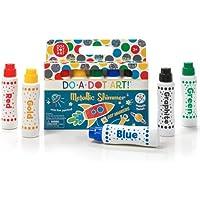 Do A Dot Art Markers - Metallic Shimmer Washable Non-Toxic Daubers Set of 5 for Kids Children Toddlers Preschool and Kindergarten Teachers The Original Dot Markers