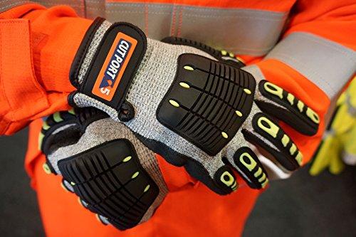Portwest A722 Anti Impact Cut Resistant Glove, Large by Portwest (Image #4)