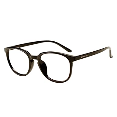 f384ce015a Xinvision TR90 Lightweight Myopia Lenses Spectacles Big Round Frame Bamboo  Wood Temple Eyewear Women Men Retro