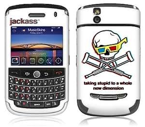MusicSkins, MS-JKAS10033, Jackass - 3D, BlackBerry Tour (9630), Skin