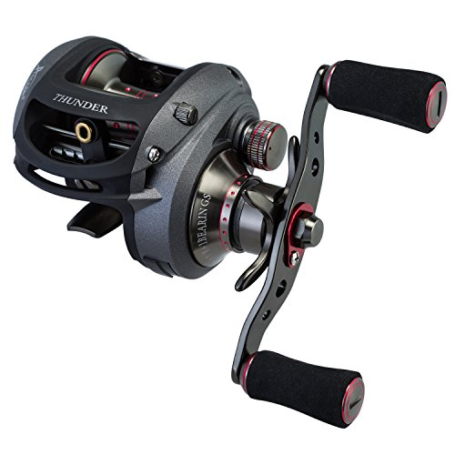 Piscifun Thunder Saltwater Baitcasting Reels 7.1:1 Baitcaster with NMB Ball Bearings Baitcast Fishing Reels (7.1:1 Left Handed)