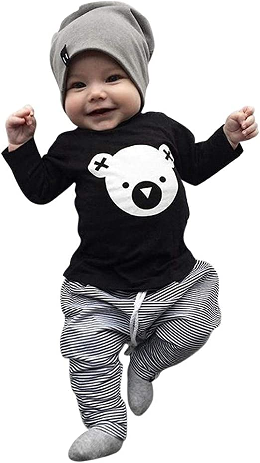NEW Koala Baby Infant Boys One Piece Knit Outfit 3-6 6-9 9-12 Mo Striped Romper