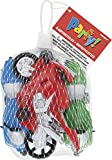 Plastic Toy Motorcycle Party Favors , 4ct