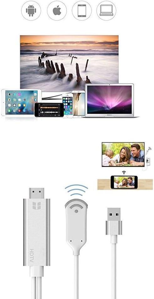 MiraScreen HDMI 2.4GHz WiFi Miracast DLNA Display HD Media 1080P Dongle Receiver
