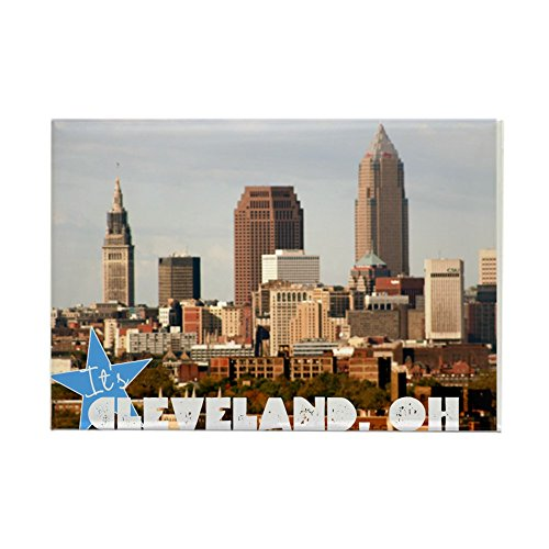 CafePress Wrap Up In Cleveland Magnets Rectangle Magnet, 2