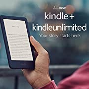 Kindle – Now with a Built-in Front Light – Black – Ad-Supported + Kindle Unlimited (with auto-renewal)