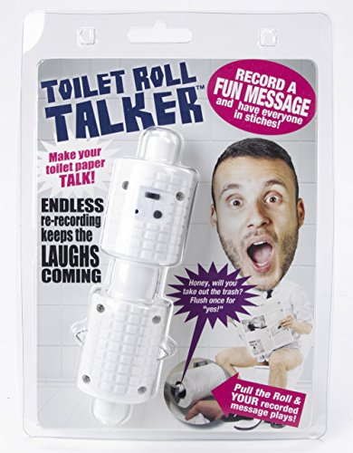 Talking Toilet Roll Holder