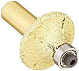 8 Pieces Pack: 3/16 Inch 3/8 Inch 1/2 Inch 3/4 Inch Diamond Brazed Router Bit 1/2-Inch Shank marble granite glass stone tile cutting edge grinding half roundover bullnose work with drill chuck -  Asia Pacific Construction