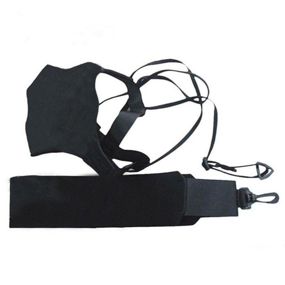 AIYIOUWEI Soccer Ball Kick Trainer Skills Solo Football Training Aid Equipment Waistbelt Adjustable Belt Practice Assistance