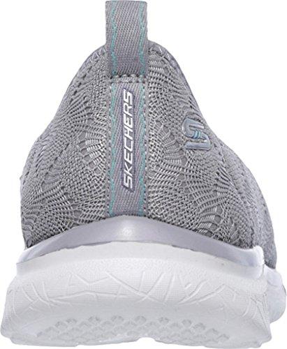 Skechers Women's Studio Burst Slip-On Sneaker Gray v5rApuvwc