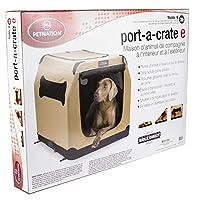 Petnation Port-A-Crate Interior y exterior Casa para mascotas