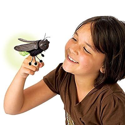 Folkmanis Mini Firefly Finger Puppet: Toys & Games