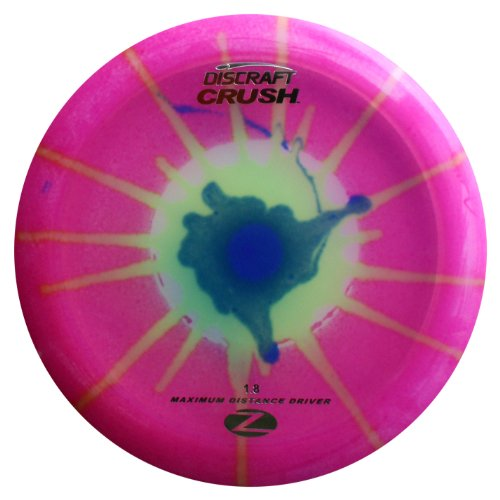 - Discraft Crush Elite Z Fly Dye Golf Disc, 170-172 Grams