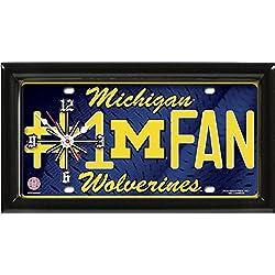 GTEI Michigan Wolverines # 1 Fan Clock by