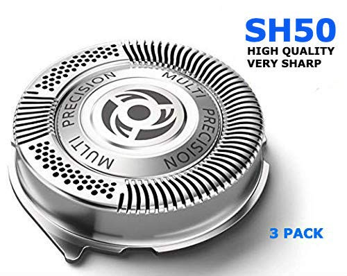 Smart Choice Products SH50/52 Replacement Razor Blade Head compatible with Phillips Norelco 5000 Series Shavers New HQ8 Replaces all Hq8 models