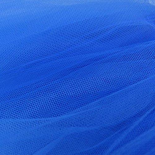 et Jupe Oudan Fonc Couleurs Femme Mariage Courte Femme Annes Ballet Varie Filles Style Tutu Bleu Jupon 50 pour Jupe wZq1rY