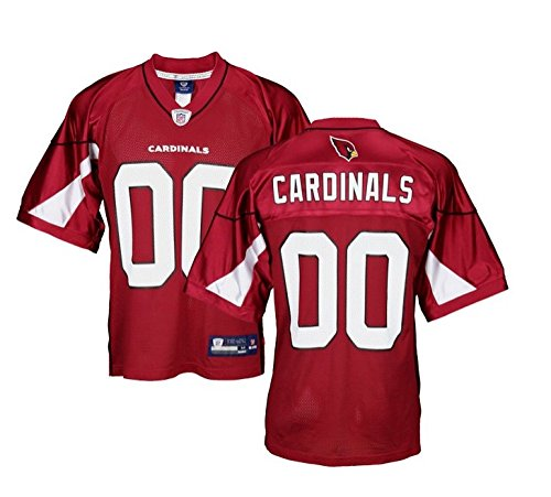 Arizona Cardinals NFL Mens Team Replica Jersey, Red (Medium)