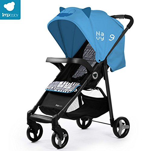 Little Devils Pram Blue - 3